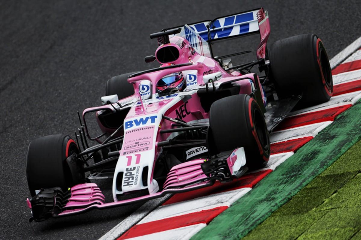 フォースインディア F1 日本GP