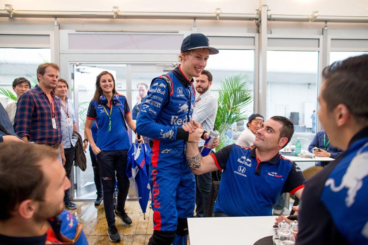 F1 ブレンドン・ハートレー トロロッソ・ホンダ