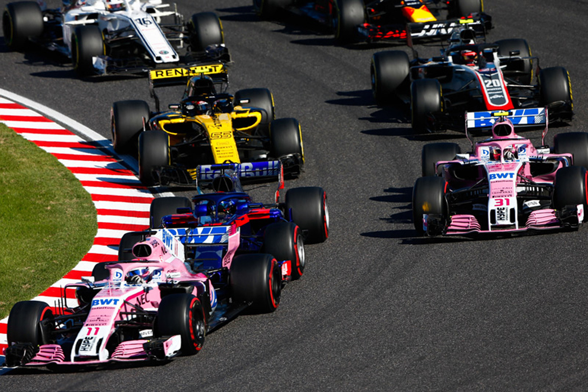2018年 F1日本GP 決勝 動画