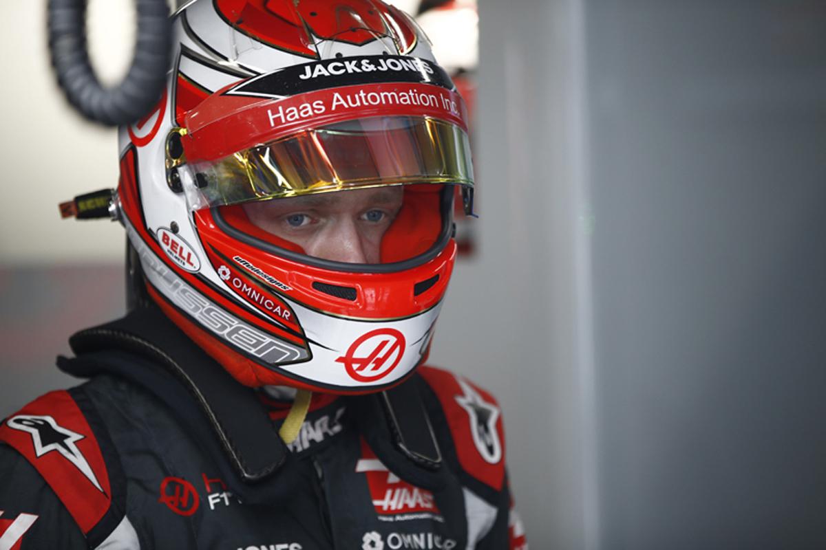 F1 ケビン・マグヌッセン 日本GP
