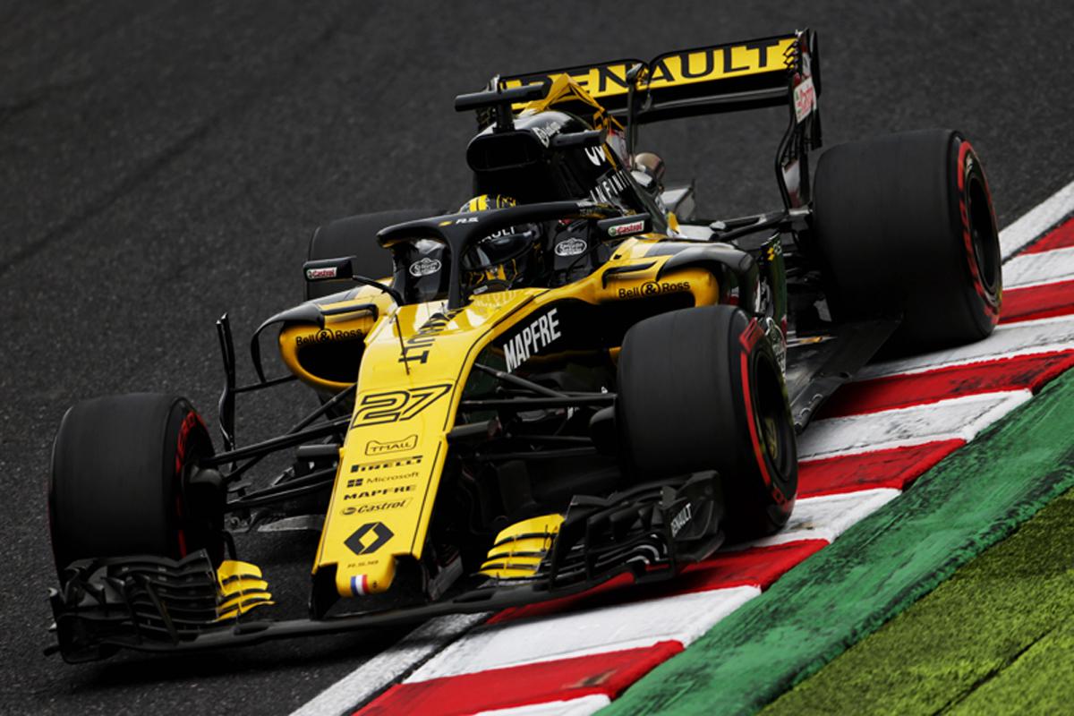 F1 ルノーF1 日本GP