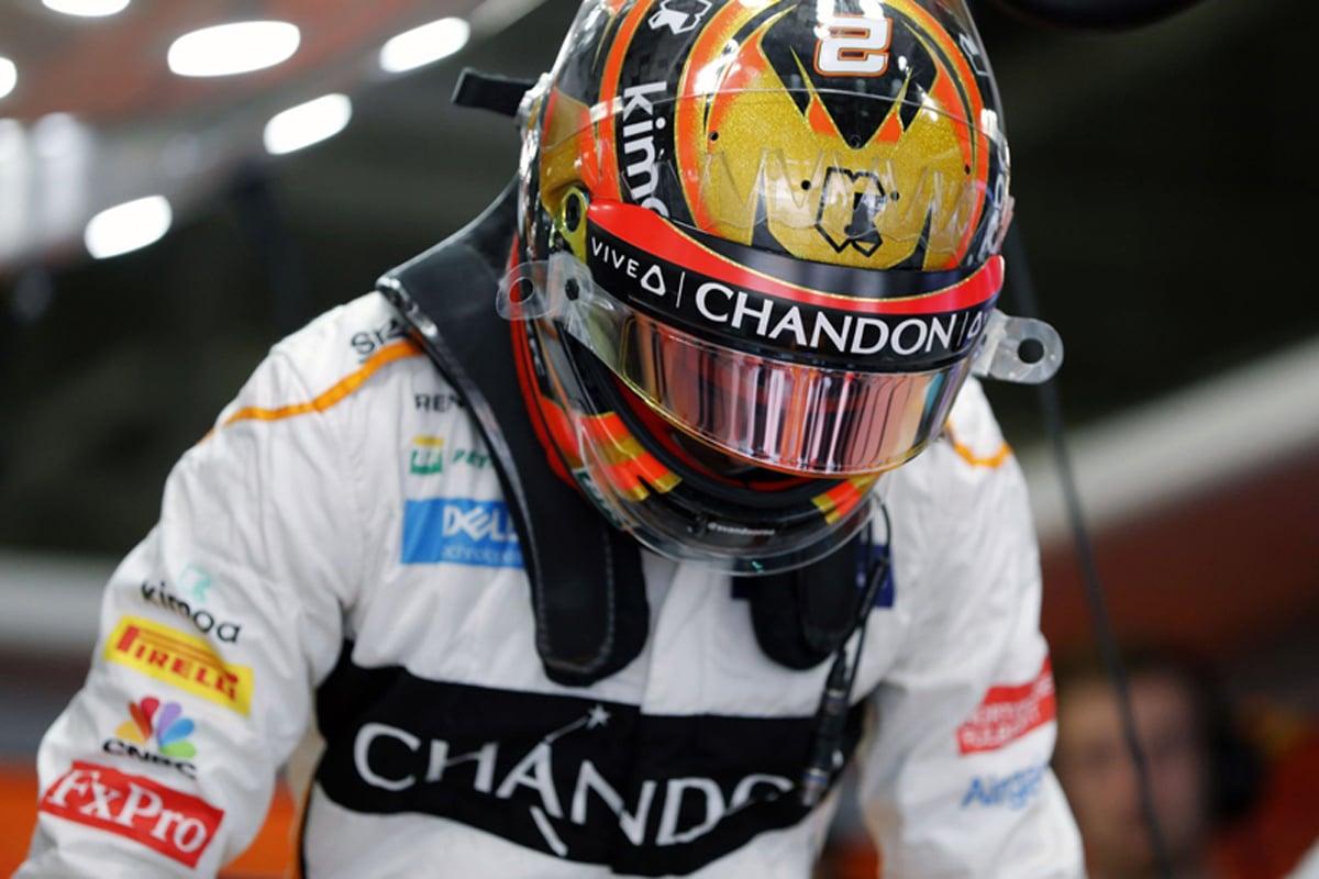F1 ストフェル・バンドーン 日本GP