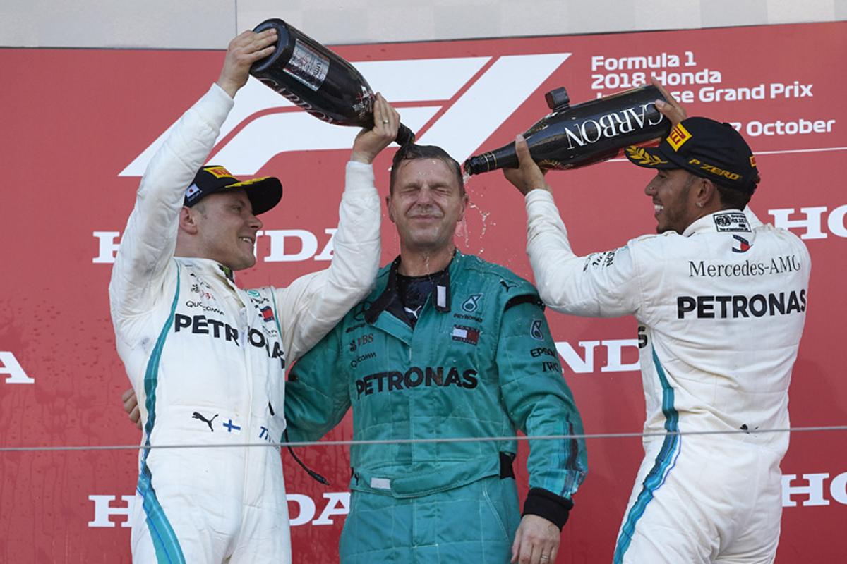 F1 メルセデス ルイス・ハミルトン 日本GP