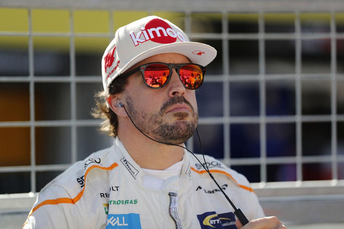 F1 フェルナンド・アロンソ 鈴鹿