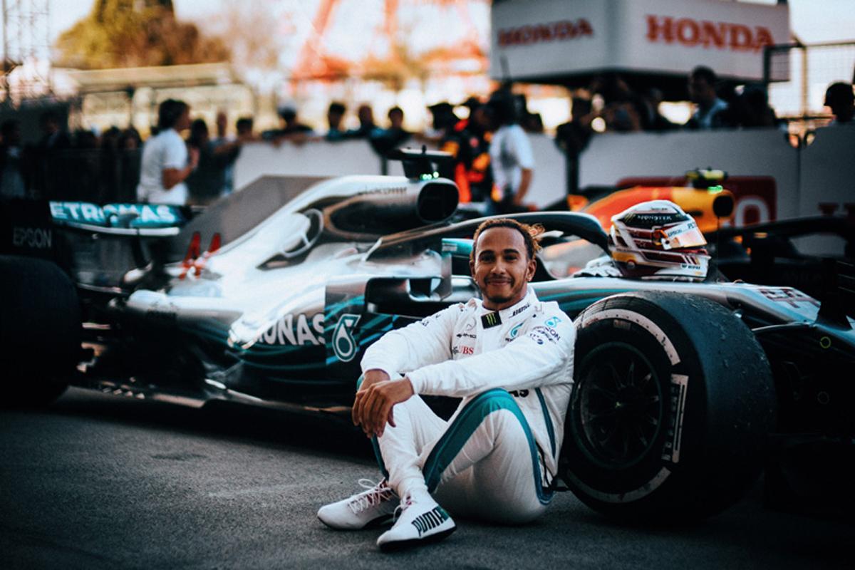F1 ルイス・ハミルトン 日本GP