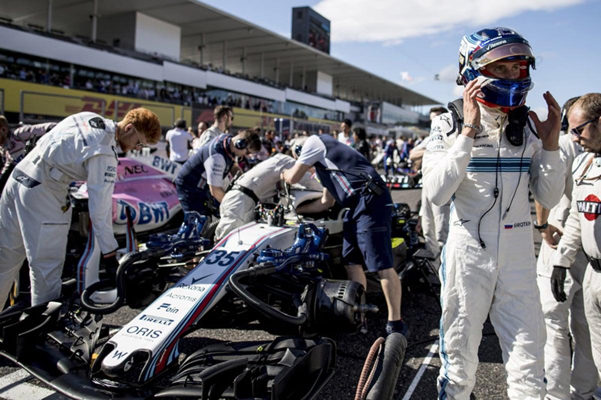 F1 セルゲイ・シロトキン 日本GP