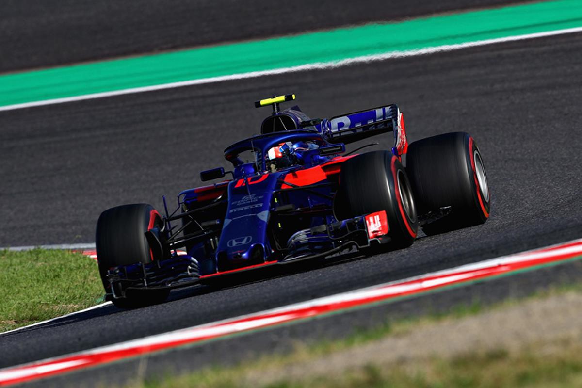 F1 トロロッソ・ホンダ 日本GP