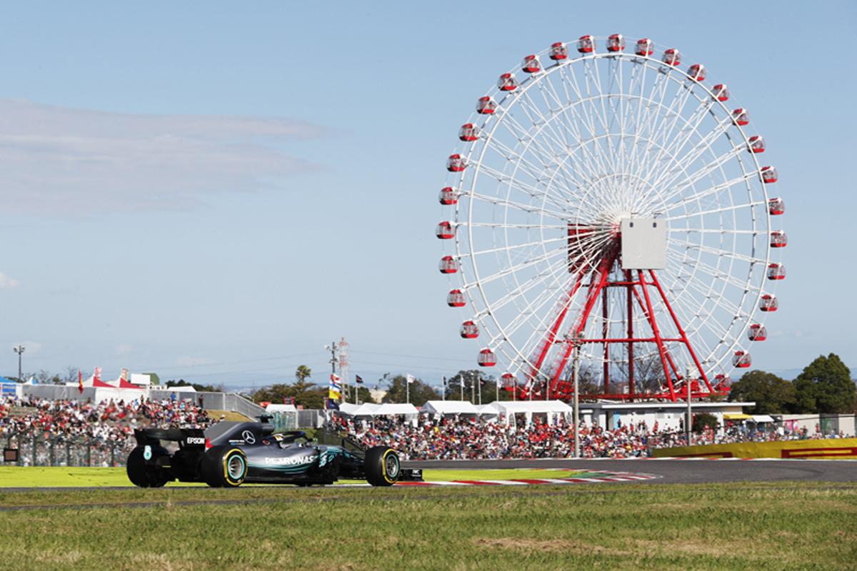 F1 日本GP 決勝 ピレリ