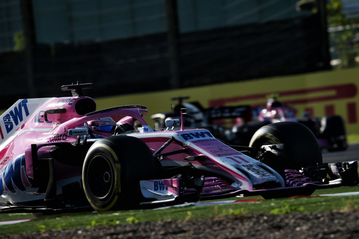 F1 フォースインディア 日本グランプリ