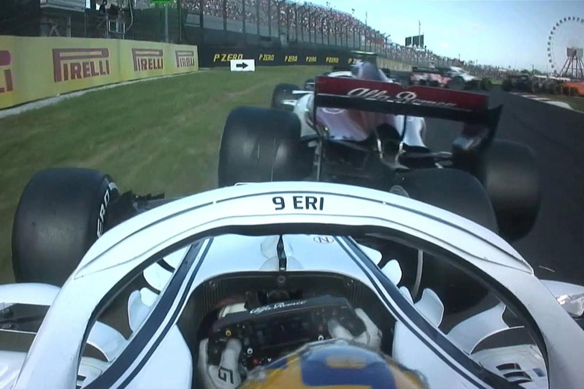 F1 マーカス・エリクソン 日本GP