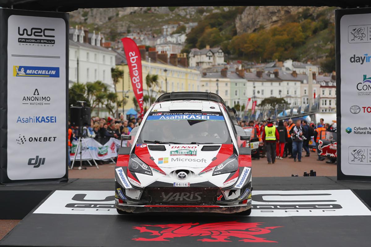 WRC ラリージャパン