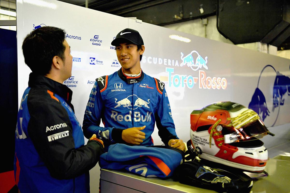 F1 ショーン・ゲラエル トロロッソ・ホンダ