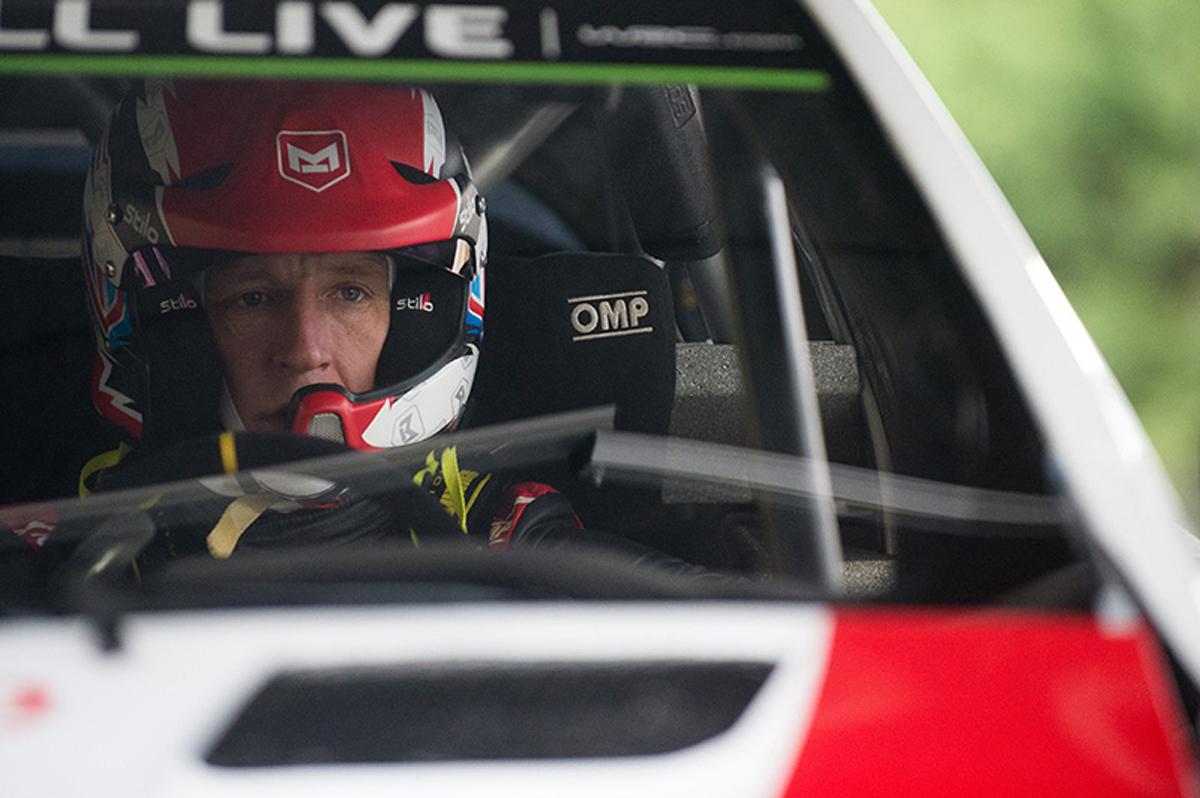 WRC トヨタ クリス・ミーク