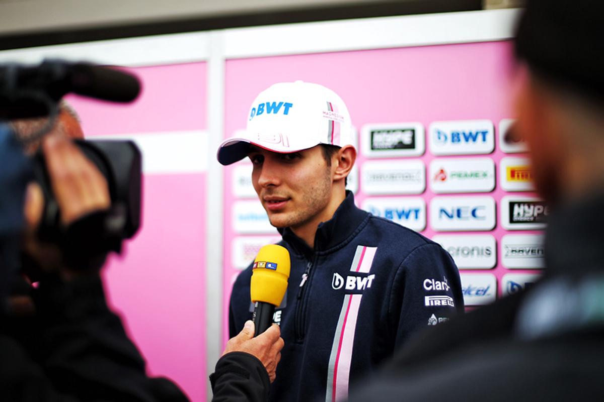 F1 エステバン・オコン ウィリアムズ