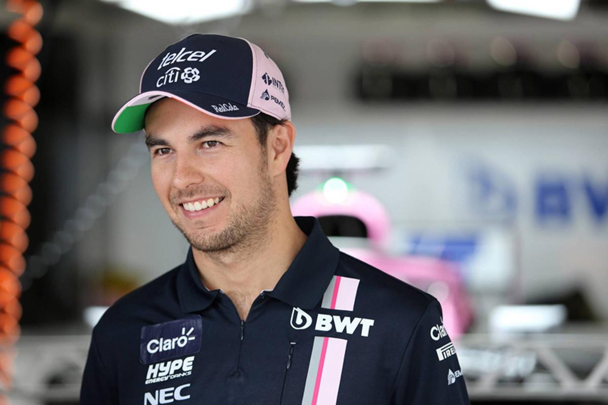 F1 フォースインディア セルジオ・ペレス