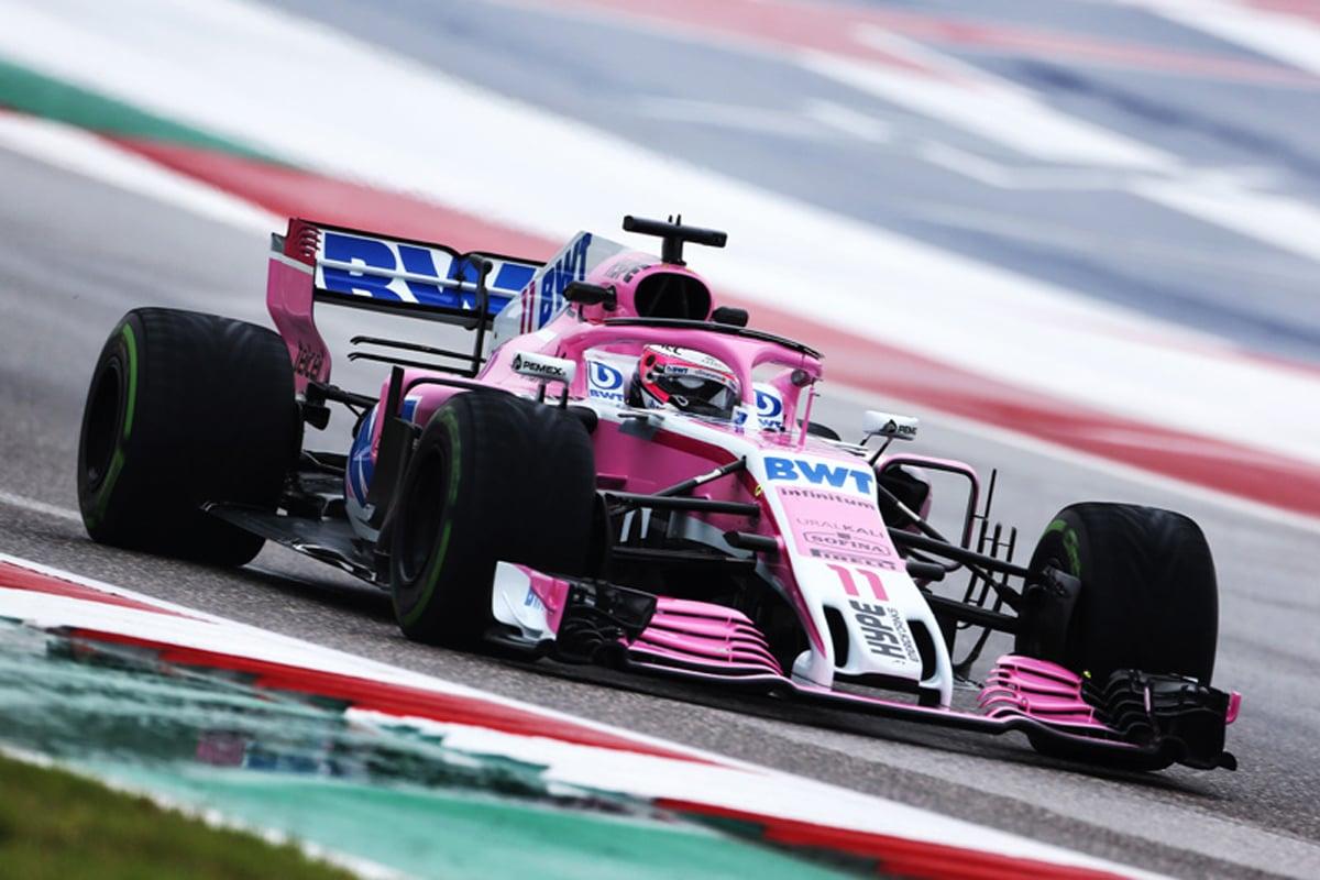 F1 フォースインディア アメリカGP