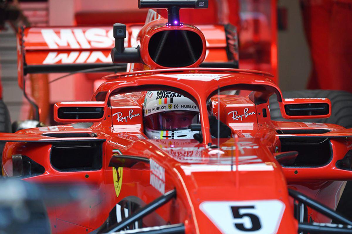 F1 セバスチャン・ベッテル アメリカGP