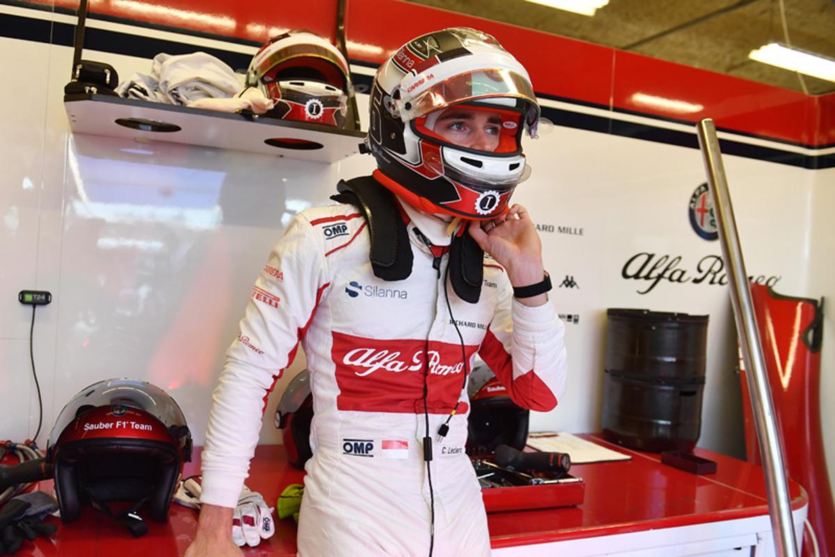 F1 シャルル・ルクレール アメリカGP
