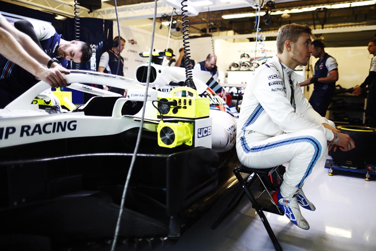 F1 セルゲイ・シロトキン アメリカGP