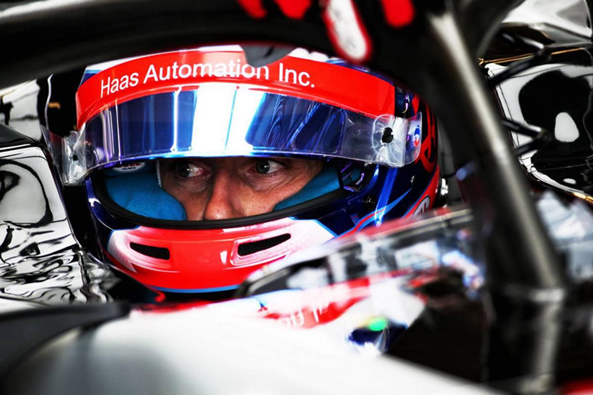 F1 ロマン・グロージャン アメリカGP