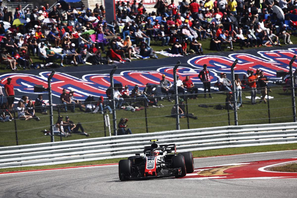 F1 ハースF1チーム アメリカGP