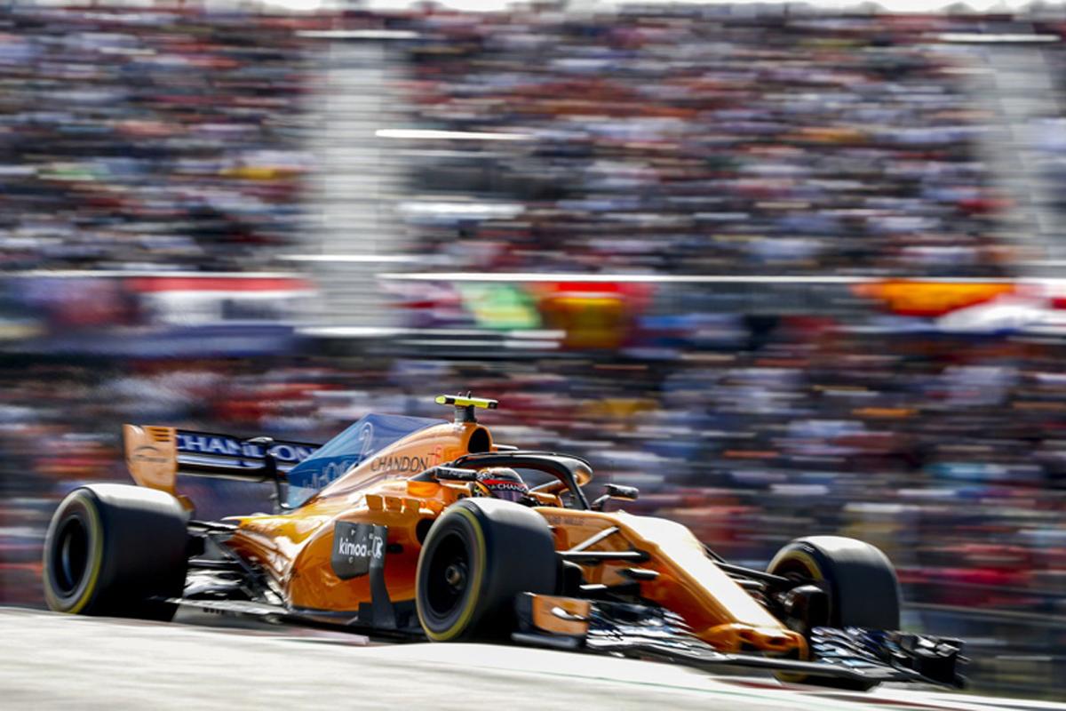 F1 マクラーレン アメリカGP