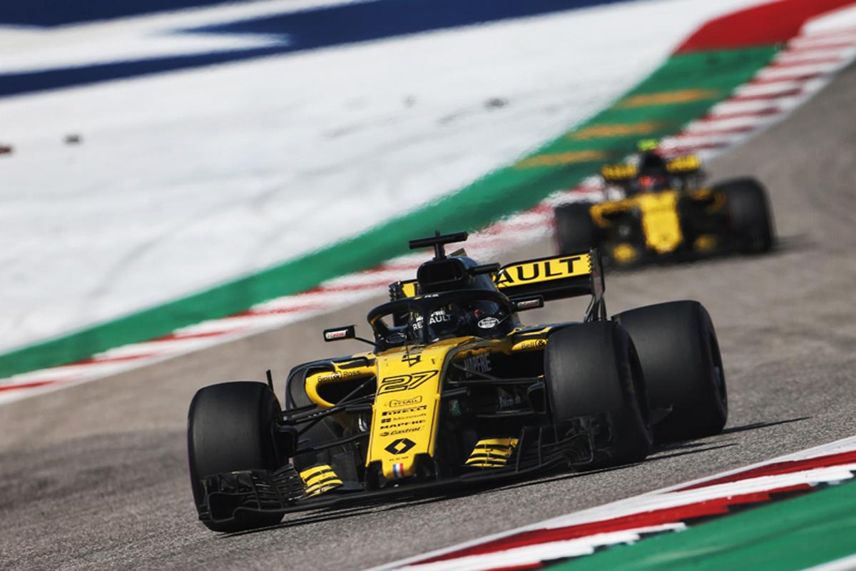 F1 ルノー アメリカグランプリ