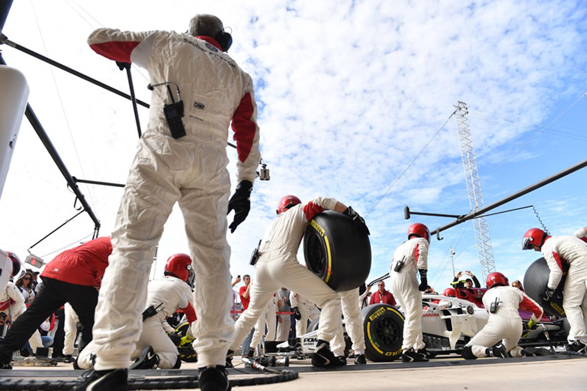 F1 ザウバー アメリカGP