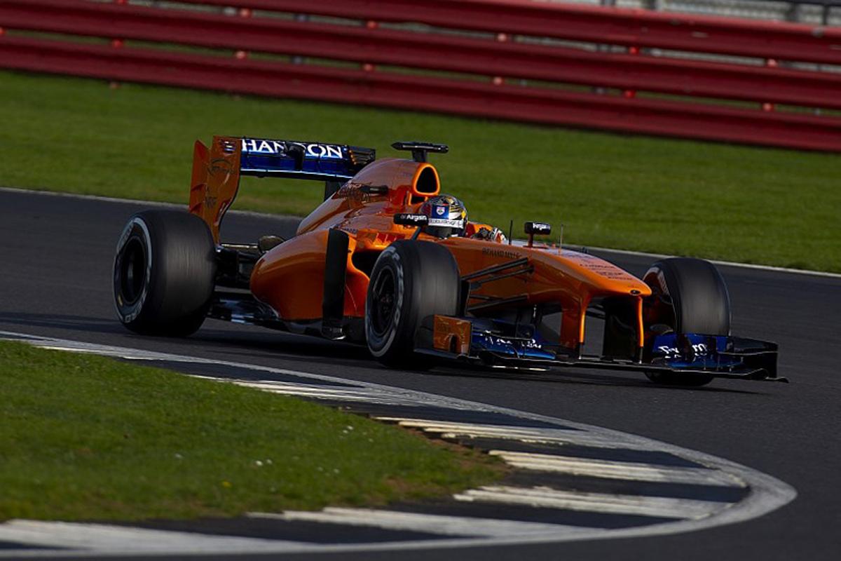 F1 ダニエル・ティクトゥム マクラーレン