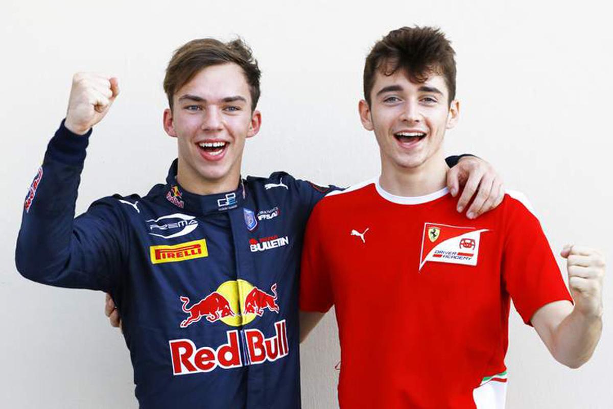 F1 ピエール・ガスリー シャルル・ルクレール