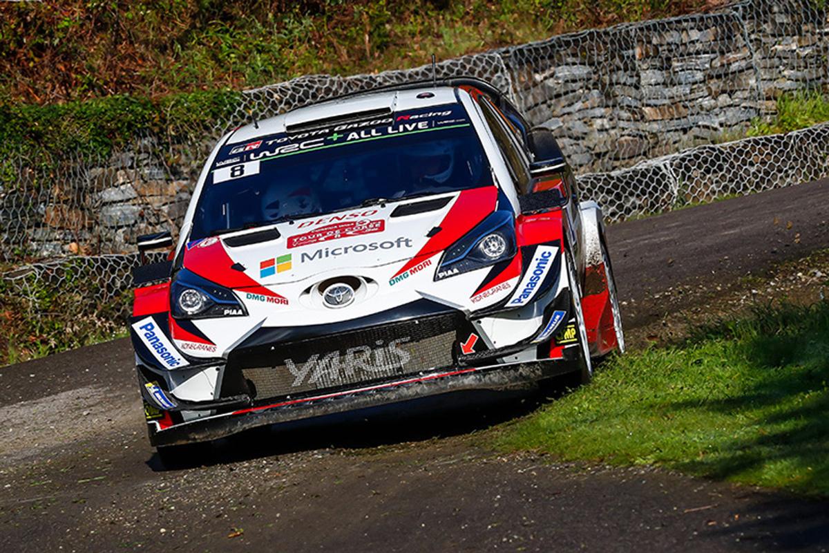 WRC ラリースペイン