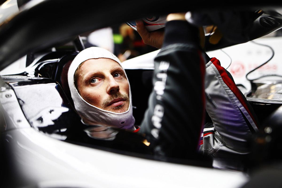 F1 ロマン・グロージャン ハースF1チーム