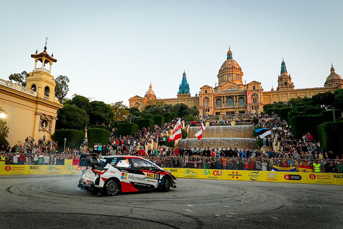 WRC トヨタ ラリー・スペイン