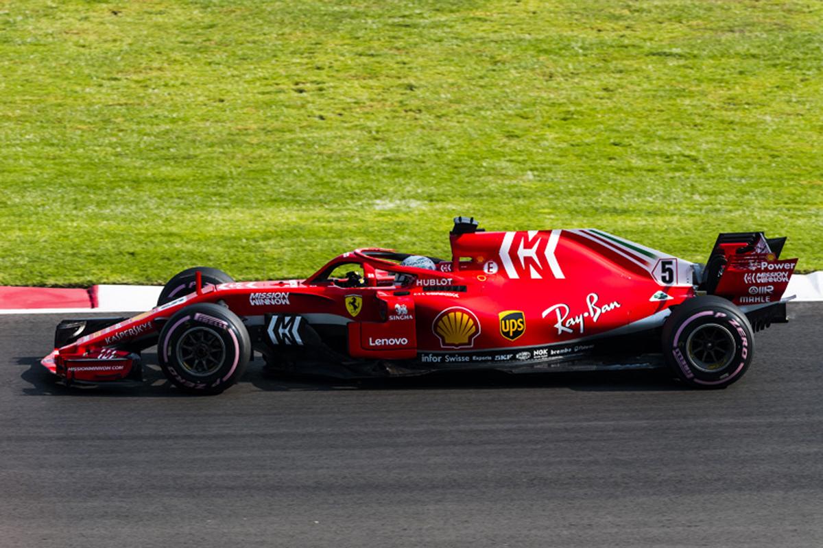 F1 フェラーリ メキシコGP