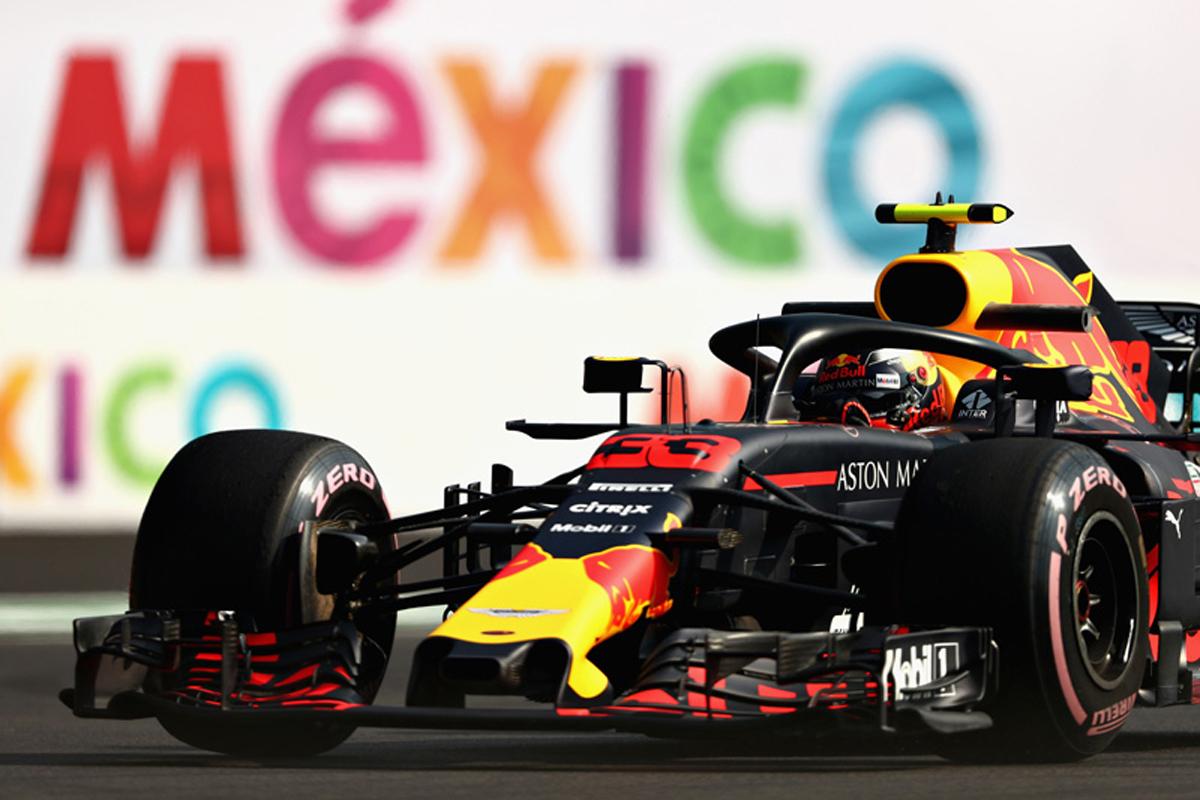 F1メキシコGP フリー走行1回目