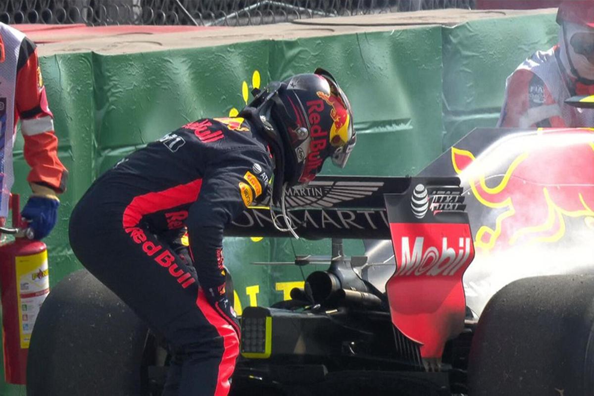 F1 メキシコGP フリー走行2回目