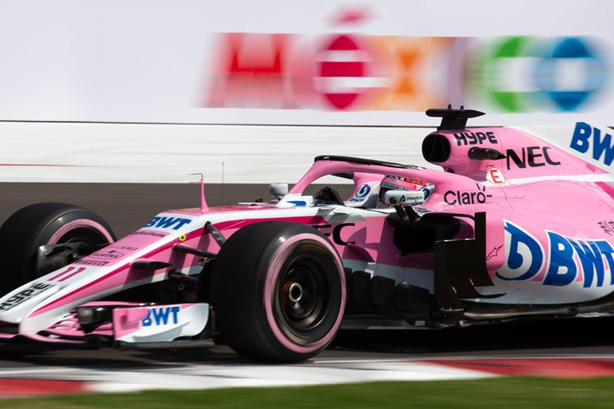 F1 フォースインディア メキシコグランプリ