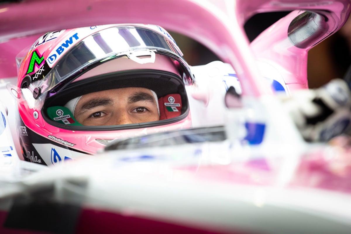 F1 セルジオ・ペレス メキシコGP フォースインディア