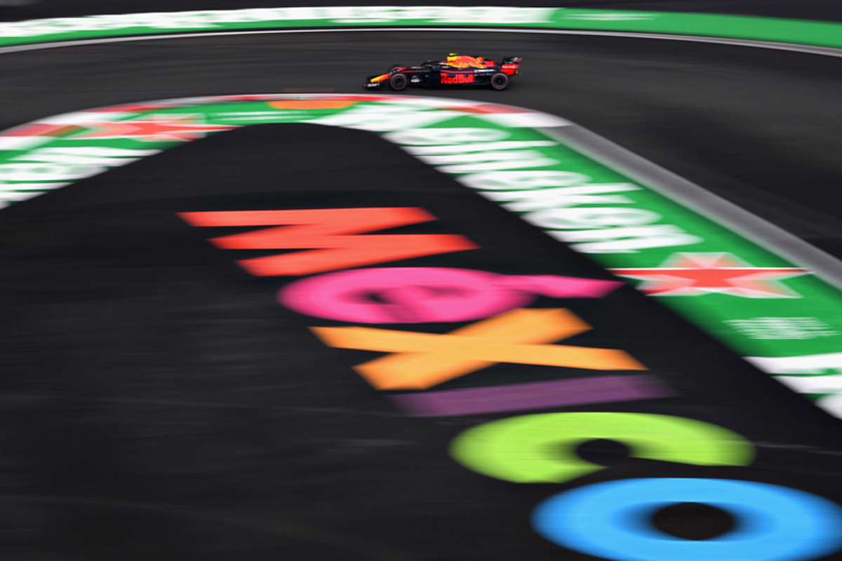 F1 メキシコGP フリー走行3回目
