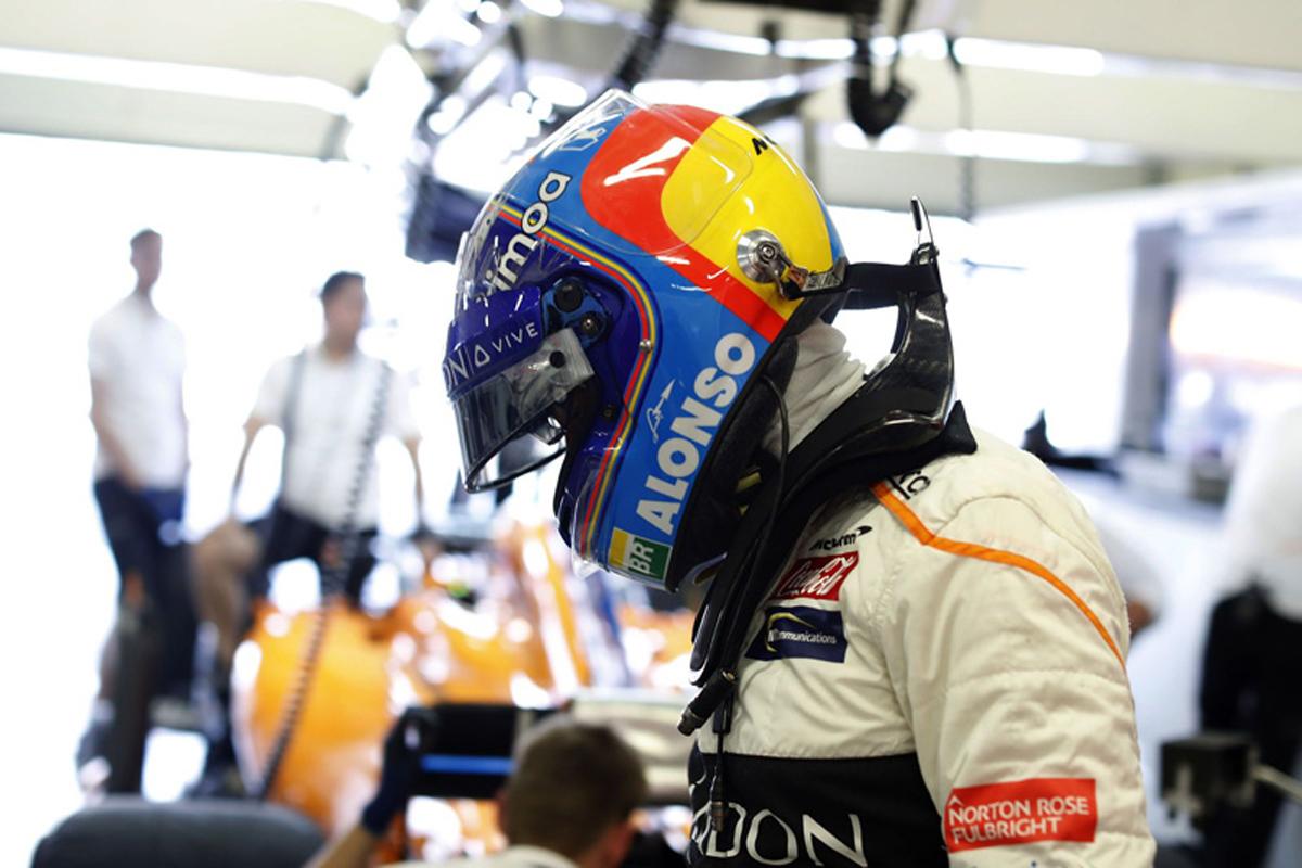 F1 フェルナンド・アロンソ マクラーレン メキシコGP