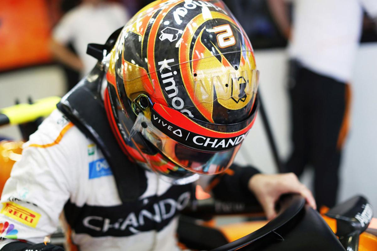 F1 ストフェル・バンドーン マクラーレン メキシコGP