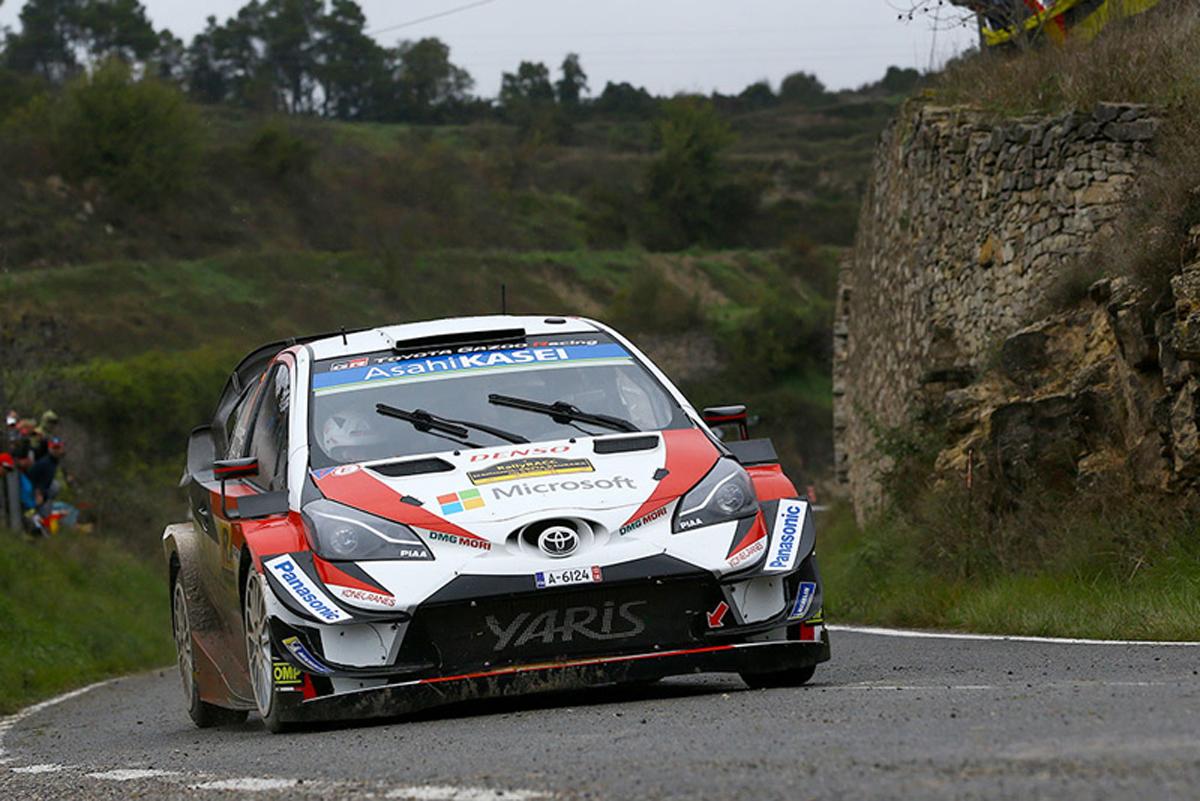 WRC ラリー・スペイン トヨタ