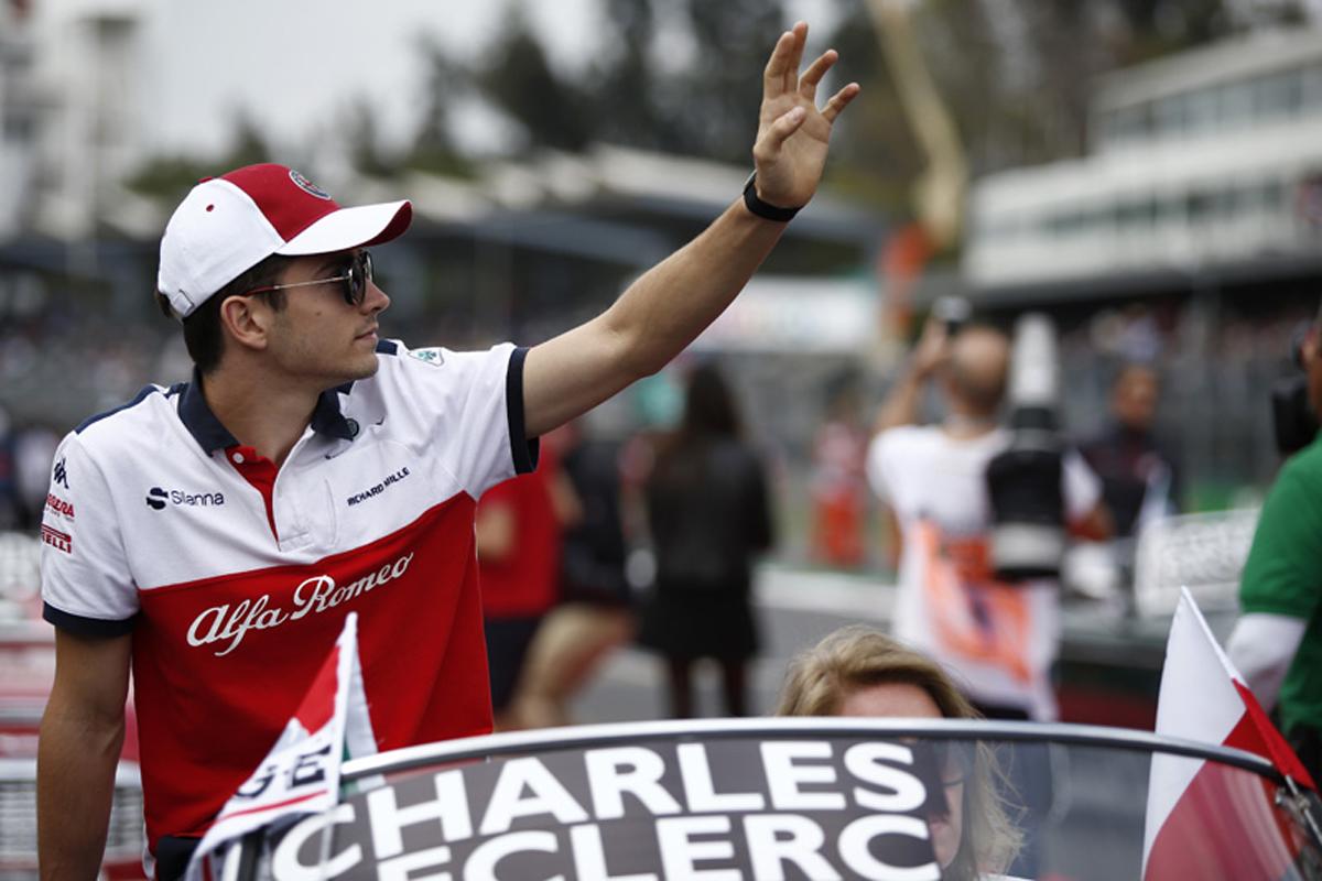 F1 シャルル・ルクレール ザウバー メキシコGP