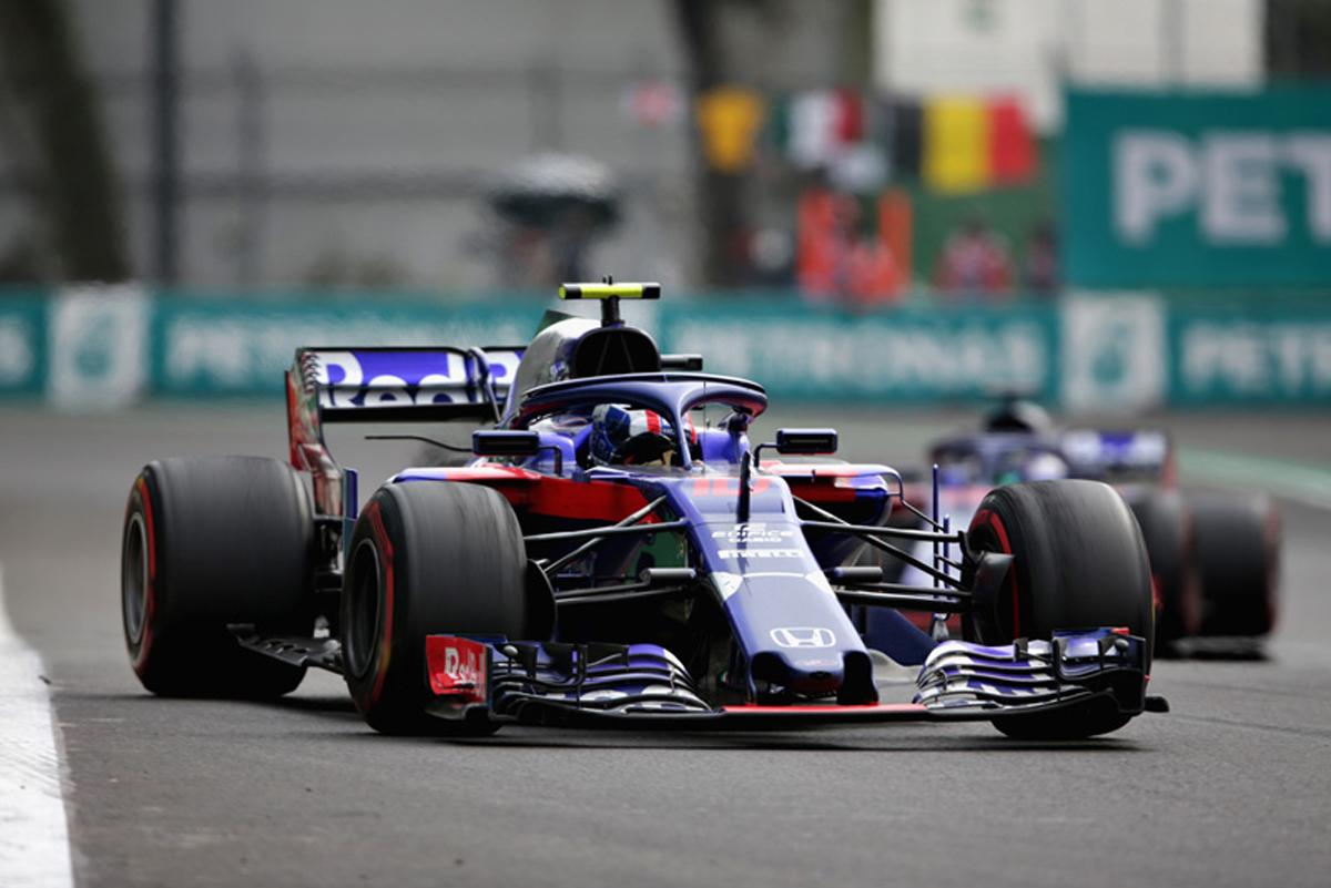 F1 トロロッソ・ホンダ メキシコGP
