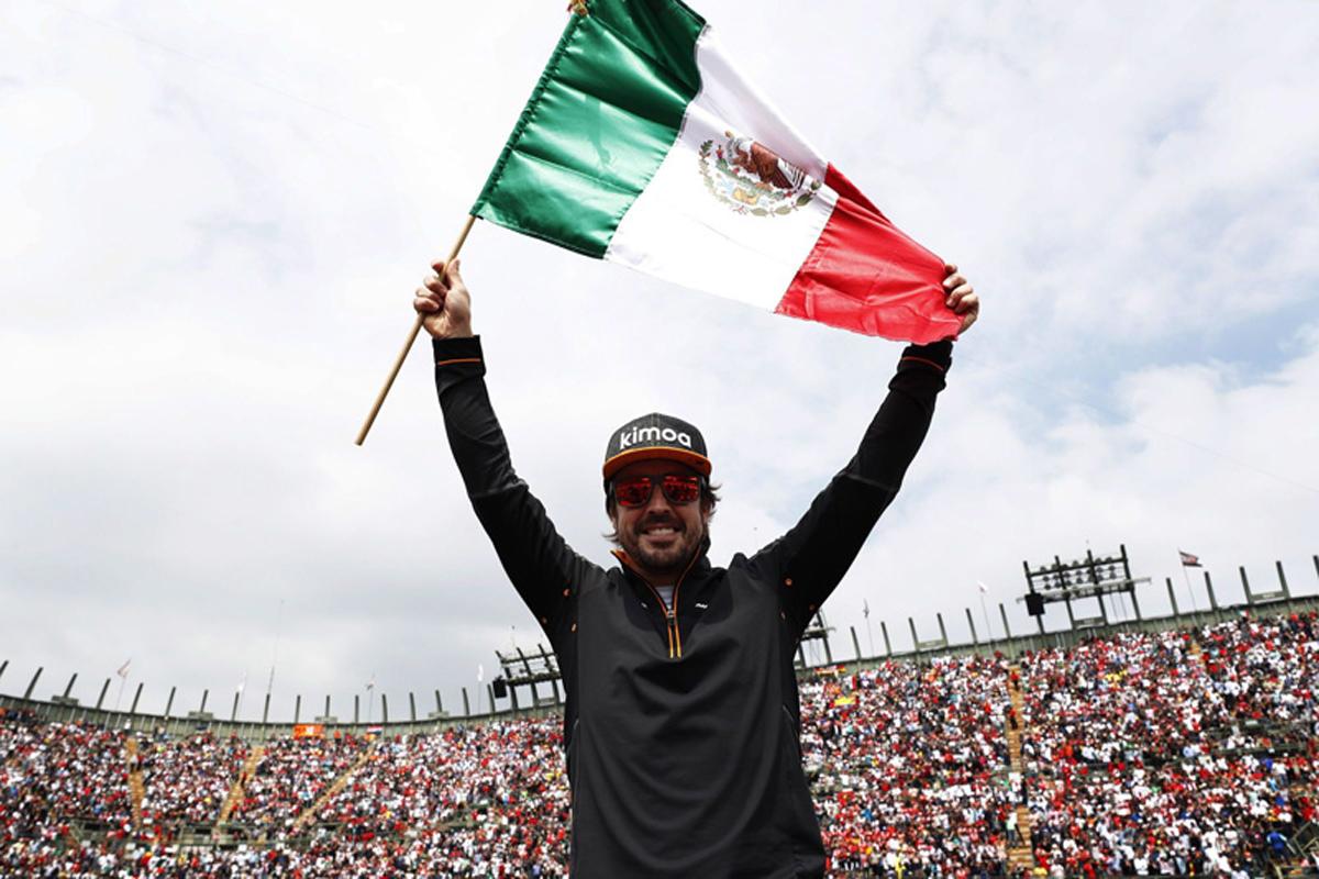 F1 フェルナンド・アロンソ メキシコグランプリ マクラーレン