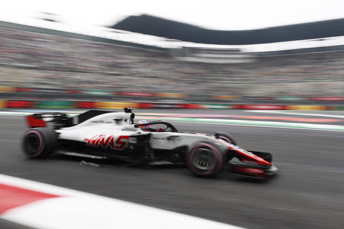 F1 ハースF1チーム メキシコGP
