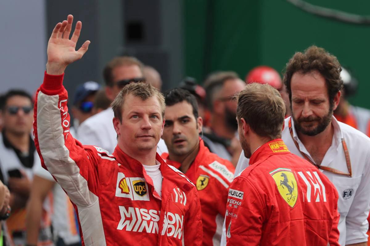 F1 キミ・ライコネン フェラーリ メキシコGP