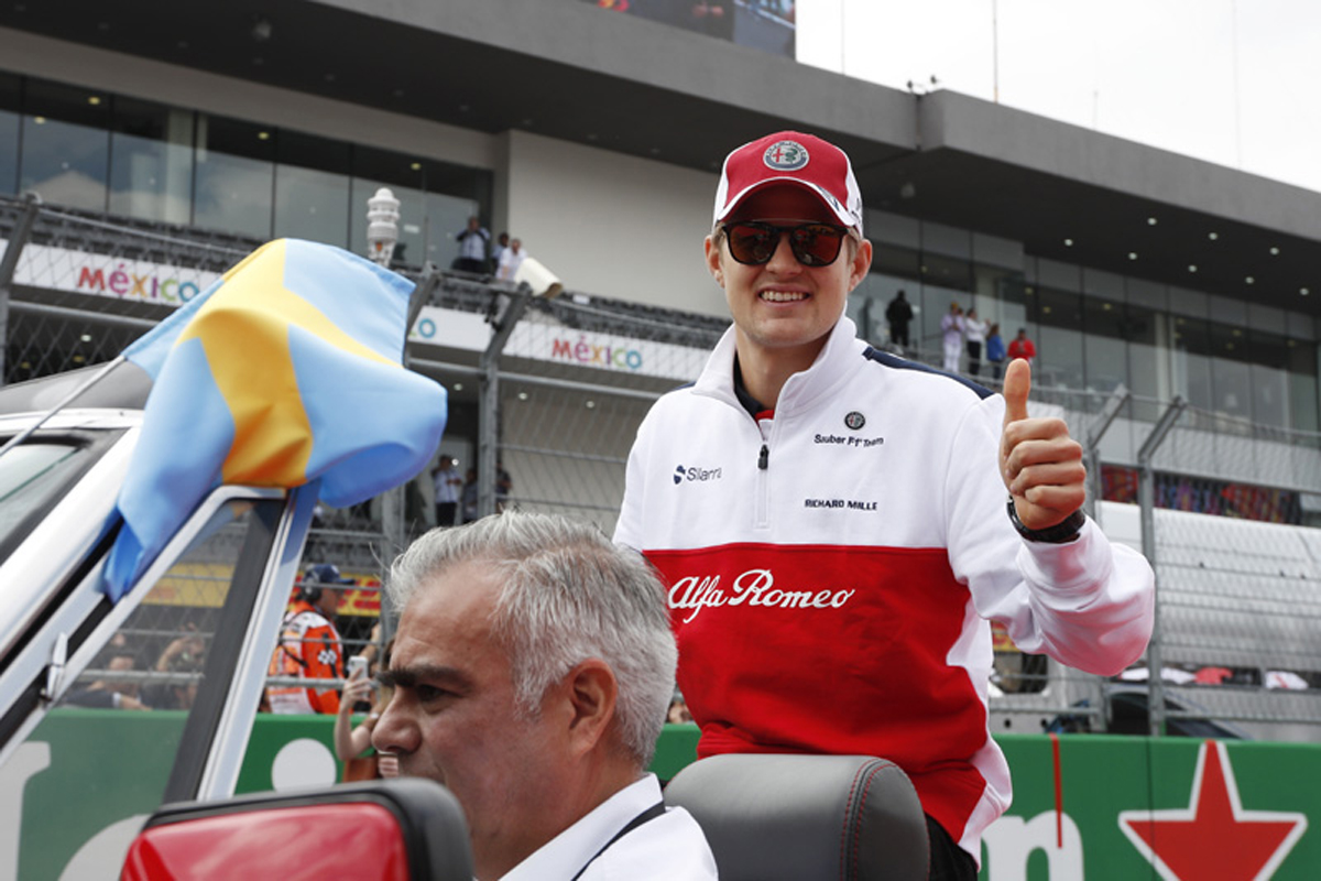 F1 マーカス・エリクソン ザウバー メキシコGP