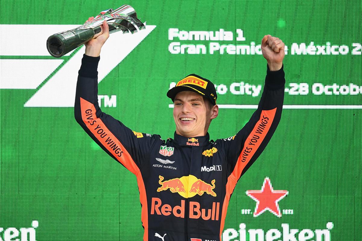 F1 マックス・フェルスタッペン メキシコGP レッドブル・レーシング