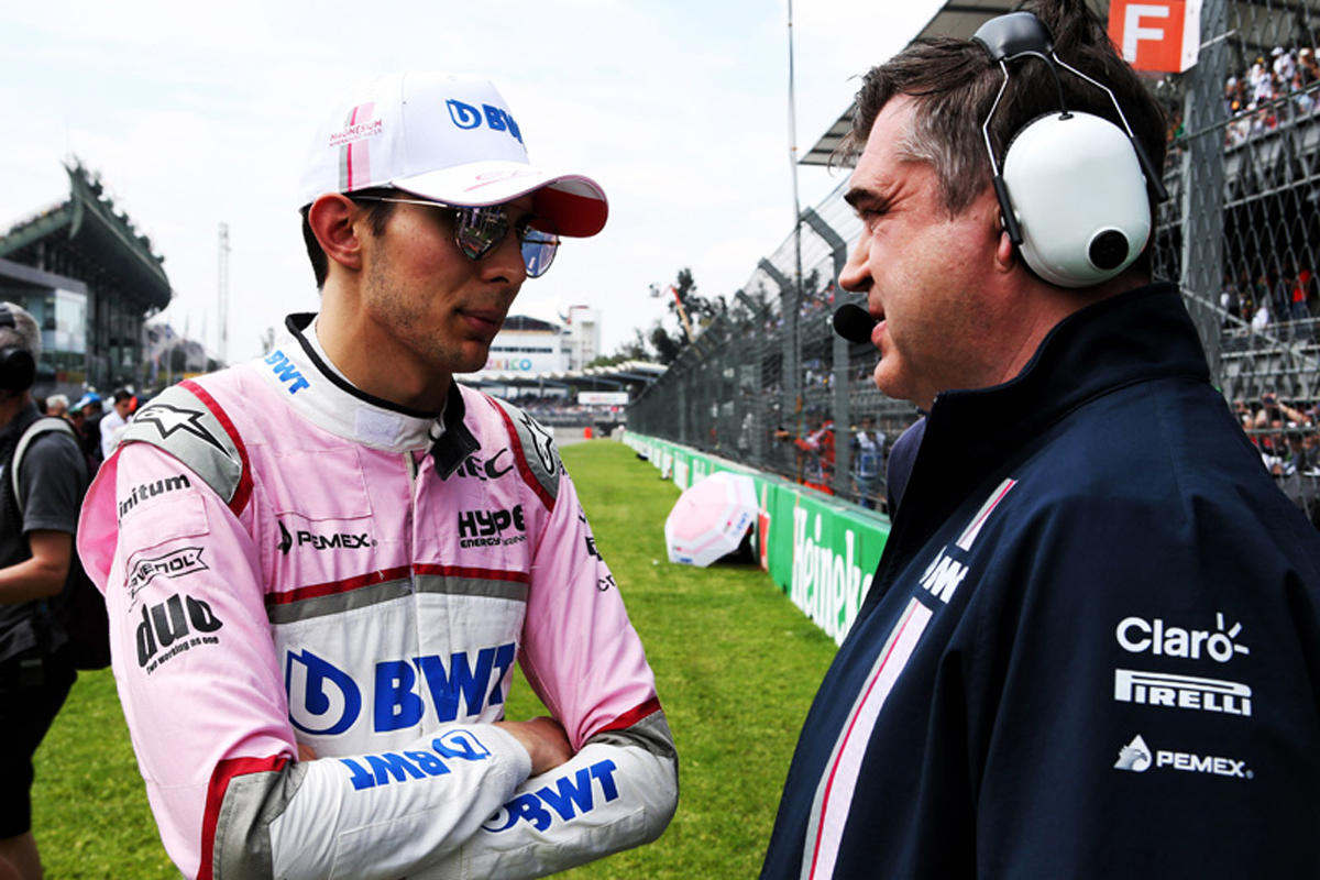 F1 エステバン・オコン フォースインディア